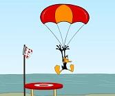 El Pato Lucas Paracaidista